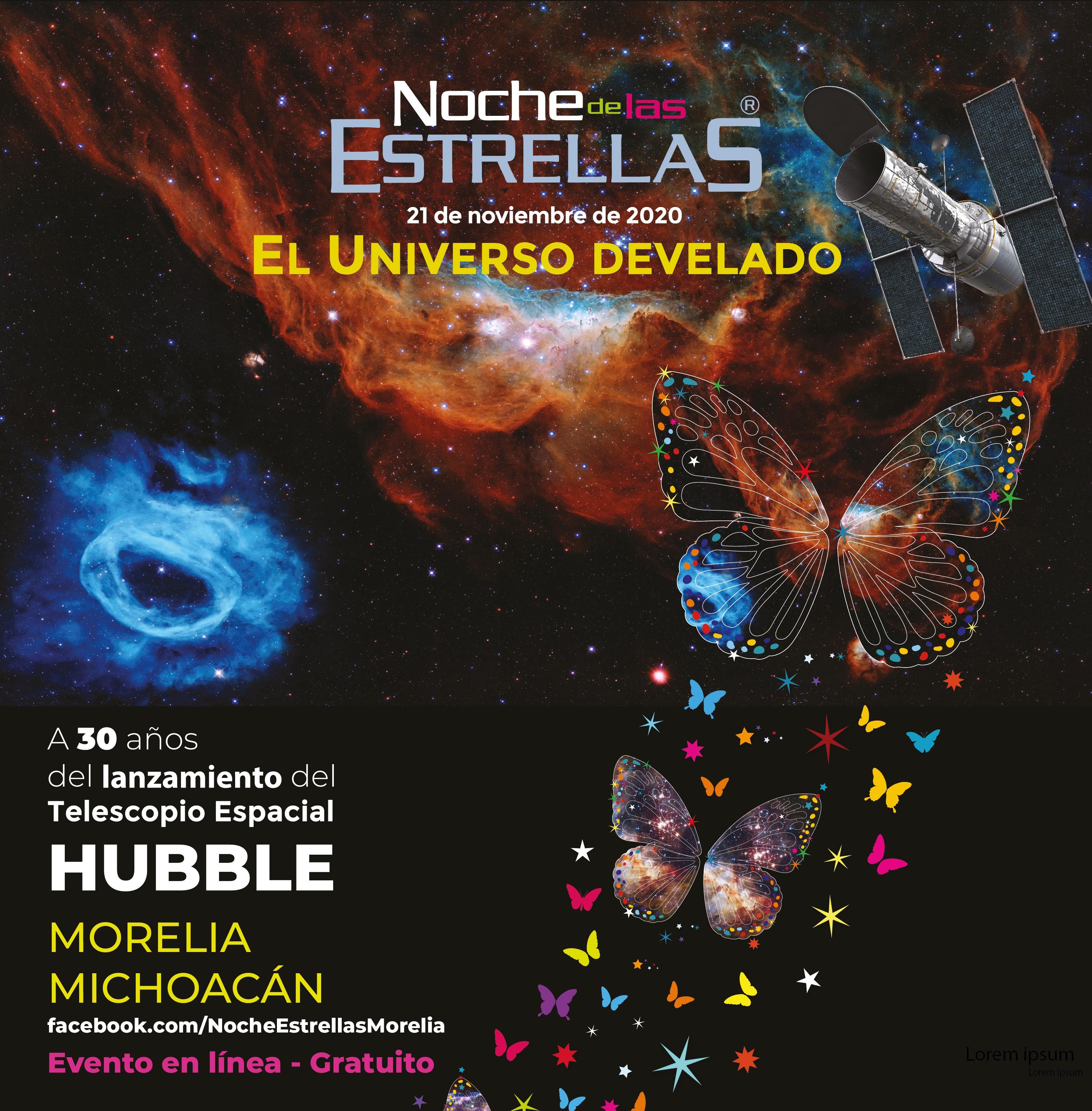 Invitan a la Noche de las Estrellas de Morelia 2020