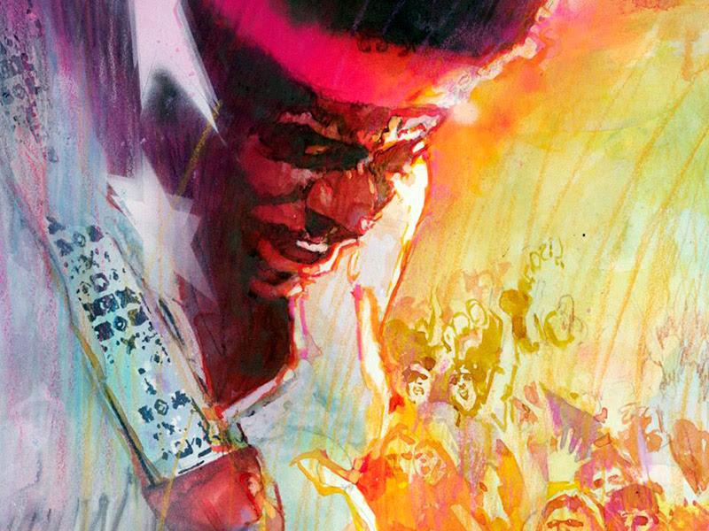 A 50 años de su muerte, TV UNAM transmitirá Jimi Hendrix. El niño vudú