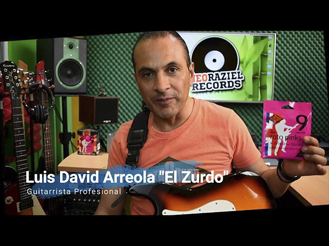 Clínica de guitarra eléctrica con Luis David Arreola El Zurdo