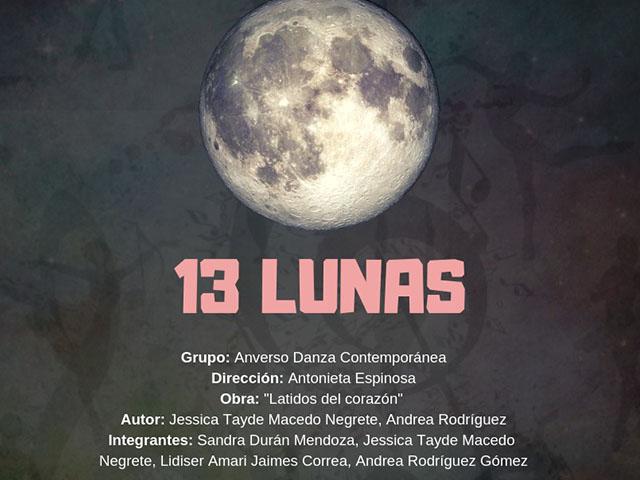 Viene el proyecto de danza contemporánea 13 lunas