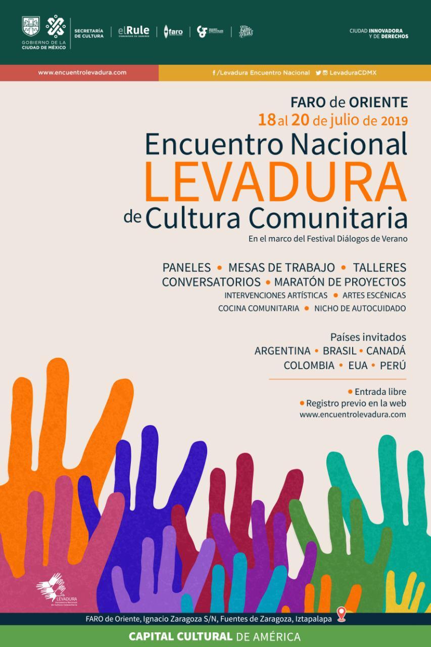 La reflexión sobre procesos de construcción comunitaria, uno de los objetivos de LEVADURA