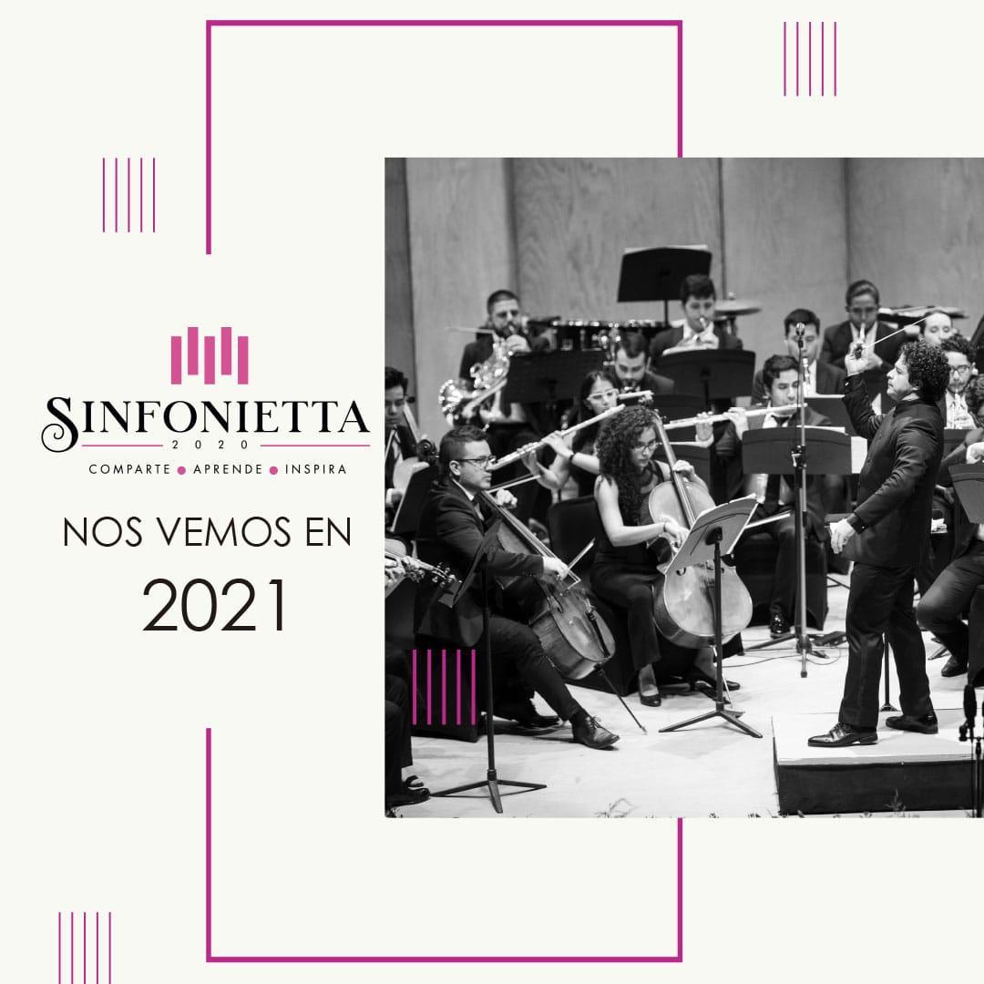 Segunda edición de la Sinfonietta FMM se realizará en 2021 por la pandemia