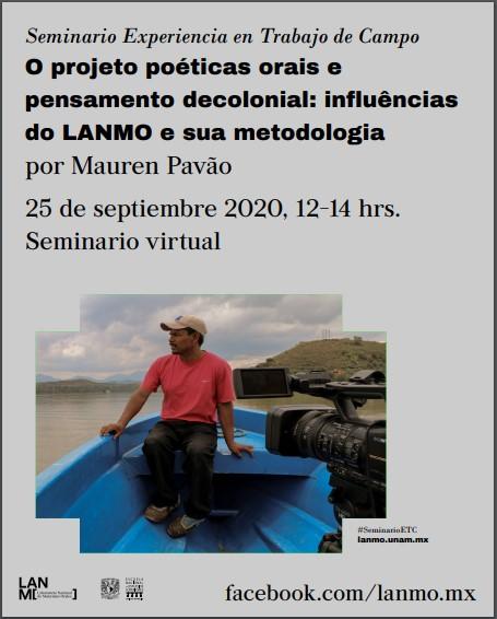 Presentarán influencia de la metodología del LANMO en la investigacion de campo