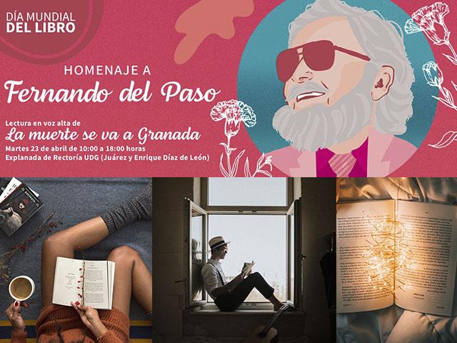 Fernando del Paso protagonizará el Día Mundial del Libro