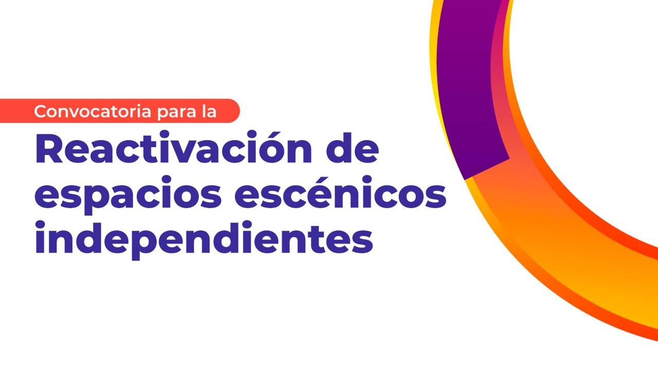 Anuncian a los ganadores de la Convocatoria para la Reactivación de espacios escénicos independientes