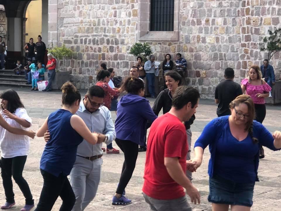 Música y Baile, reúnen a morelianos en el Centro Histórico